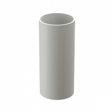 Труба водосточная круглая ПВХ Docke Premium 85 мм Пломбир 3 м