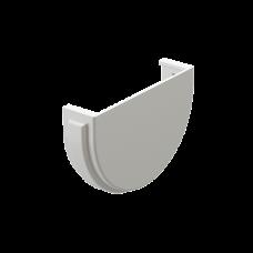 Заглушка желоба универсальная ПВХ Docke Premium 120 мм Пломбир