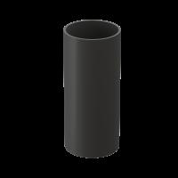 Труба водосточная круглая ПВХ Docke Premium 85 мм Графит 3 м