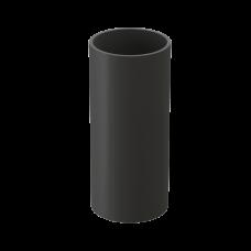 Труба водосточная круглая ПВХ Docke Premium 85 мм Графит 1 м