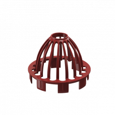 Сетка «паук» для воронки ПВХ Docke Premium 85 мм Гранат