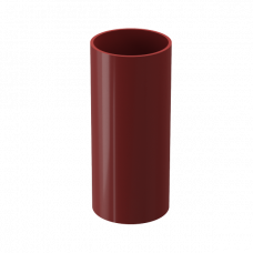 Труба водосточная круглая ПВХ Docke Premium 85 мм Гранат 1 м