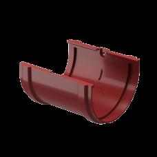Соединитель желоба ПВХ Docke Premium 120 мм Гранат