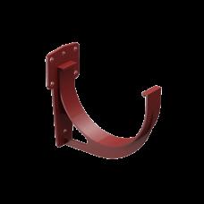 Крюк желоба короткий ПВХ Docke Premium D120 мм Гранат