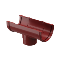 Воронка желоба ПВХ Docke Premium 120/85 мм Гранат