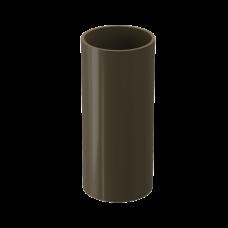 Труба водосточная круглая ПВХ Docke Premium 85 мм Каштан 3 м