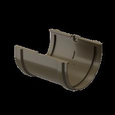 Соединитель желоба ПВХ Docke Premium 120 мм Каштан