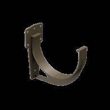 Крюк желоба короткий ПВХ Docke Premium D120 мм Каштан