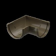Угол желоба универсальный 90 град ПВХ Docke Premium 120 мм Каштан