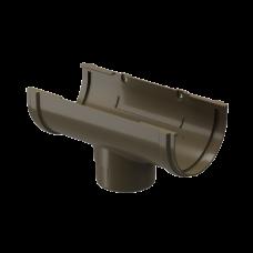 Воронка желоба ПВХ Docke Premium 120/85 мм Каштан
