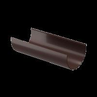 Желоб водосточный полукруглый ПВХ Docke Premium 120 мм Шоколад 3 м