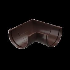 Угол желоба универсальный 90 град ПВХ Docke Premium 120 мм Шоколад