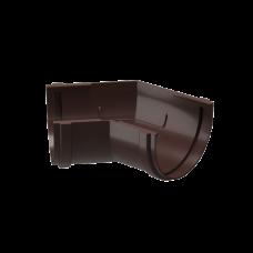 Угол желоба универсальный 135 град ПВХ Docke Premium 120 мм Шоколад