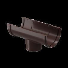 Воронка желоба ПВХ Docke Premium 120/85 мм Шоколад