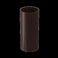Труба водосточная круглая ПВХ Docke LUX 100 мм Шоколад 1 м