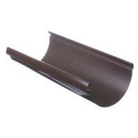Желоб водосточный полукруглый ПВХ Docke LUX 141 мм Шоколад 3 м