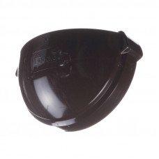 Заглушка желоба универсальная ПВХ Docke LUX 141 мм Шоколад