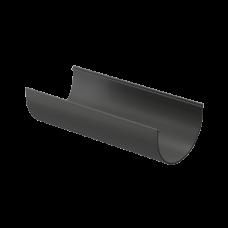 Желоб водосточный полукруглый ПВХ Docke Premium 120 мм Графит 3 м