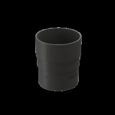 Муфта трубы соединительная ПВХ Docke Premium 85 мм Графит