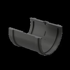 Соединитель желоба ПВХ Docke Premium 120 мм Графит