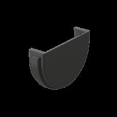 Заглушка желоба универсальная ПВХ Docke Premium 120 мм Графит