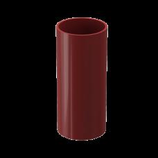 Труба водосточная круглая ПВХ Docke Premium 85 мм Гранат 3 м