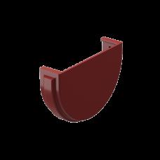 Заглушка желоба универсальная ПВХ Docke Premium 120 мм Гранат