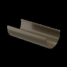 Желоб водосточный полукруглый ПВХ Docke Premium 120 мм Каштан 3 м