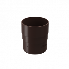 Муфта трубы соединительная ПВХ Docke Premium 85 мм Шоколад