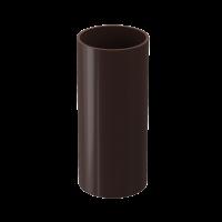 Труба водосточная круглая ПВХ Docke Premium 85 мм Шоколад 3 м