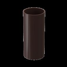 Труба водосточная круглая ПВХ Docke Premium 85 мм Шоколад 1 м