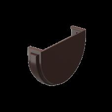 Заглушка желоба универсальная ПВХ Docke Premium 120 мм Шоколад