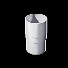 Муфта трубы соединительная ПВХ Технониколь 82 мм Белый