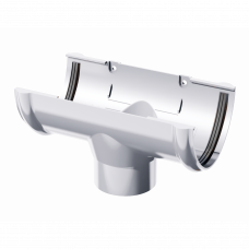 Воронка желоба ПВХ Технониколь 125/82 мм Белый