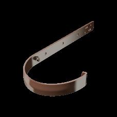 Крюк желоба длинный металлический Технониколь D125 мм Коричневый