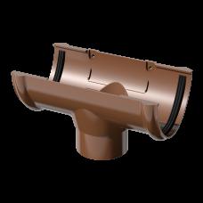Воронка желоба ПВХ Технониколь 125/82 мм Коричневый