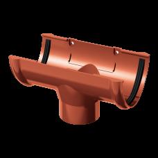 Воронка желоба ПВХ Технониколь 125/82 мм Красный