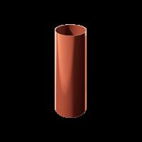 Труба водосточная круглая ПВХ Технониколь 82 мм Красный 3 м