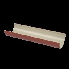 Желоб водосточный полукруглый ПВХ Технониколь 125 мм Красный 3 м
