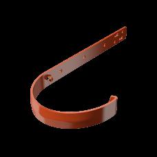 Крюк желоба длинный металлический Технониколь D125 мм Красный