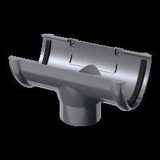 Воронка желоба ПВХ Технониколь 125/82 мм Серый