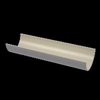 Желоб водосточный полукруглый ПВХ Технониколь 125 мм Серый 3 м