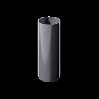 Труба водосточная круглая ПВХ Технониколь 82 мм Серый 3 м