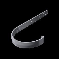 Крюк желоба длинный металлический Технониколь D125 мм Серый