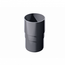 Муфта трубы соединительная ПВХ Технониколь 82 мм Серый