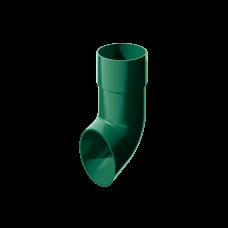 Колено сливное ПВХ Технониколь 82 мм Зеленый