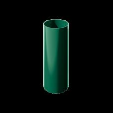 Труба водосточная круглая ПВХ Технониколь 82 мм Зеленый 3 м
