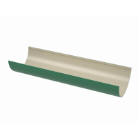 Желоб водосточный полукруглый ПВХ Технониколь 125 мм Зеленый 3 м