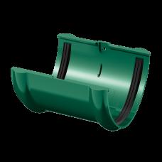 Соединитель желоба ПВХ Технониколь 125 мм Зеленый