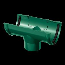 Воронка желоба ПВХ Технониколь 125/82 мм Зеленый